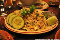 Kao Pat Puu: Traditional Crab Fried Rice with Egg, Cilantro, and Lime at Uncle Boons