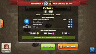 Clan TARAKAN 2 vs MUKOMUKO SEJATI, TARAKAN 2 Victory