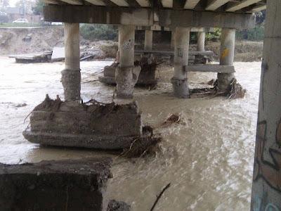 Γέφυρα Ανδρομάχης στον Πέλεκα (ΦΩΤΟ)