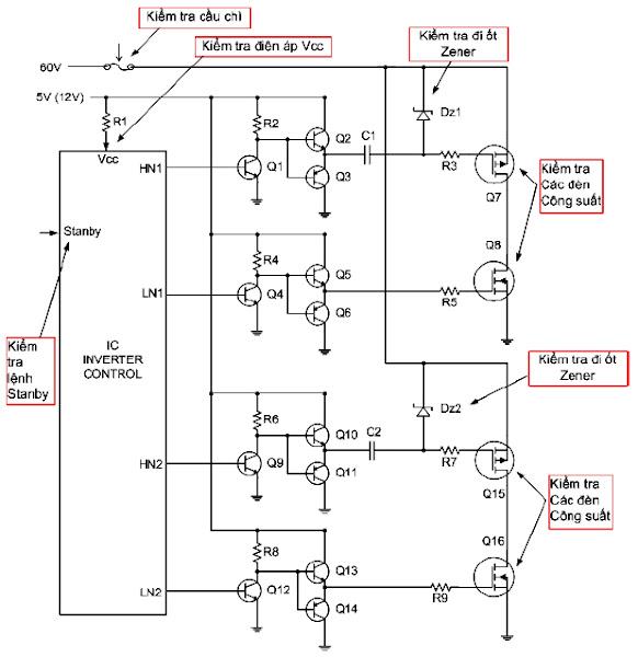 Khối cao áp (Inverter) (Phần 4)