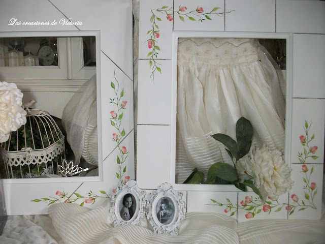 Las creaciones de Victoria.Vintage.Restauracióny decoración de marcos