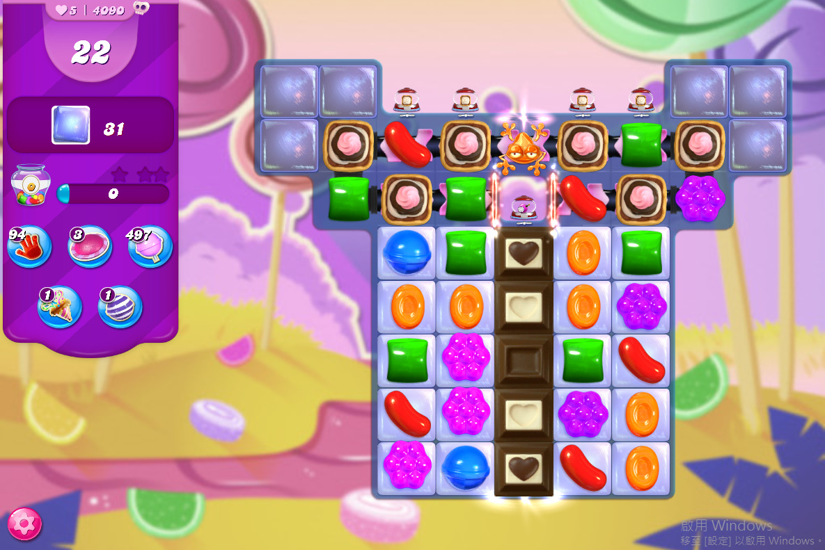 Candy Crush Saga level 4090
