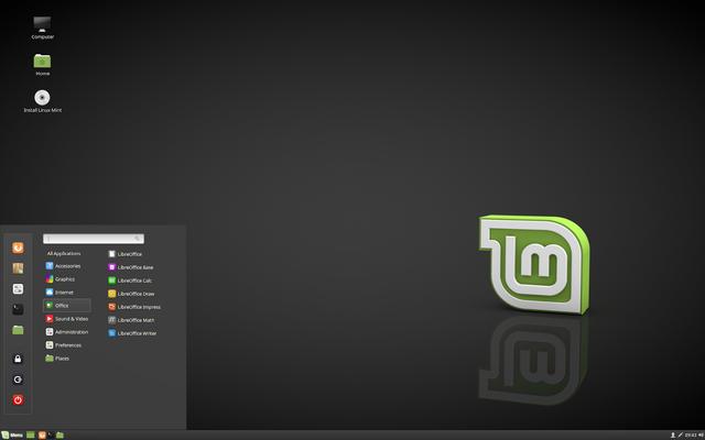 أفضل توزيعة للمبتدئين  Linux Mint