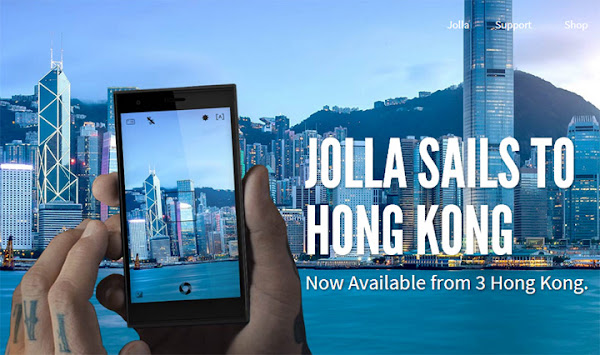 Jolla Phone goes on sale in Hong Kong