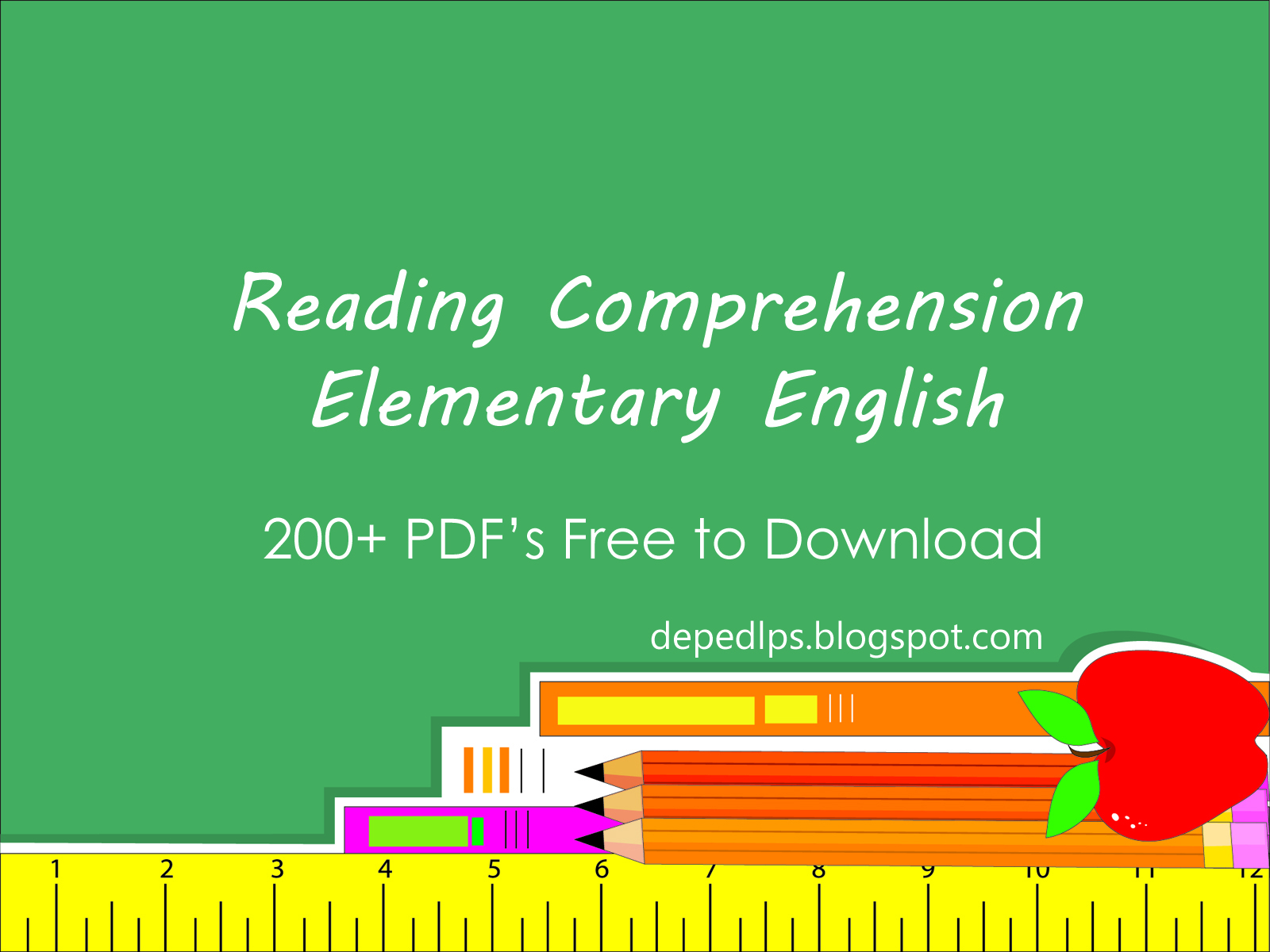 Elementary Reading Comprehension In English With