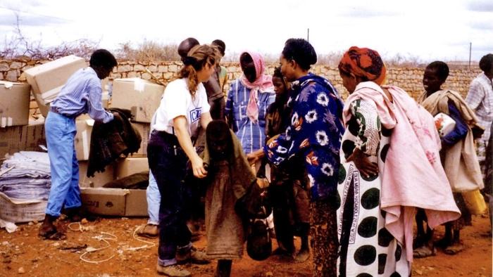 Ajuda humanitária em África
