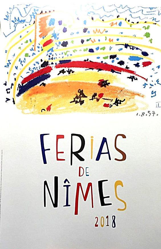 FERIA DE PENTECOTE NIMES 2018 BLOG NIMES NIMOISE 01