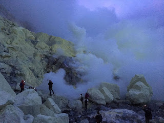 Amazing Blue Fire Ijen Crater Mount Bromo 3 Days 2 Nights