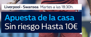 William Hill promocion Liverpool vs Swansea 26 diciembre