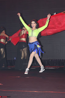Sunny Leone Dancing on stage At Rogue Movie Audio Music Launch ~  343.JPG