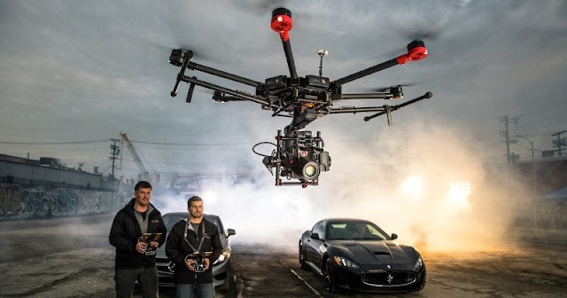 Matrice 600 Introduction: DJI sells new drone filmmaking with karate roof and racing double