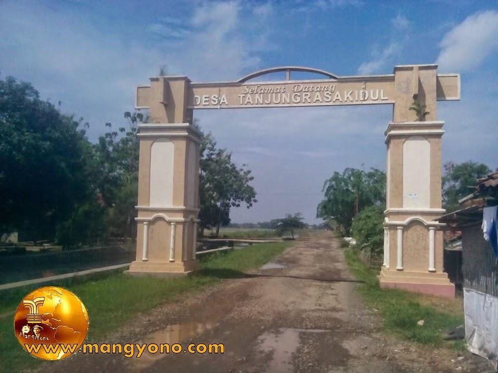 Gerbang Selamat datang desa tanjungrasa kidul. Poto jepretan Mang Dawock - Facebooker Subang ( FBS )