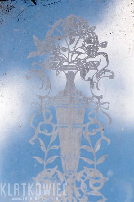 Jelenia Góra: szkło trawione - detal ulotny