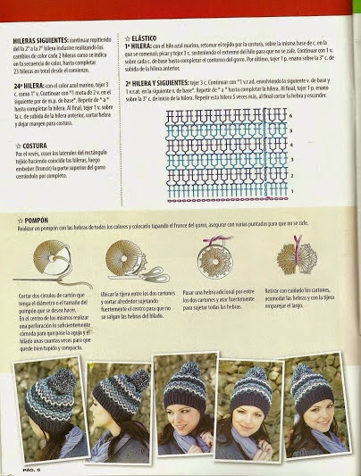d157f5cfa9f4f La Magia del Crochet  REVISTA DE GORROS A CROCHET PARA MUJER