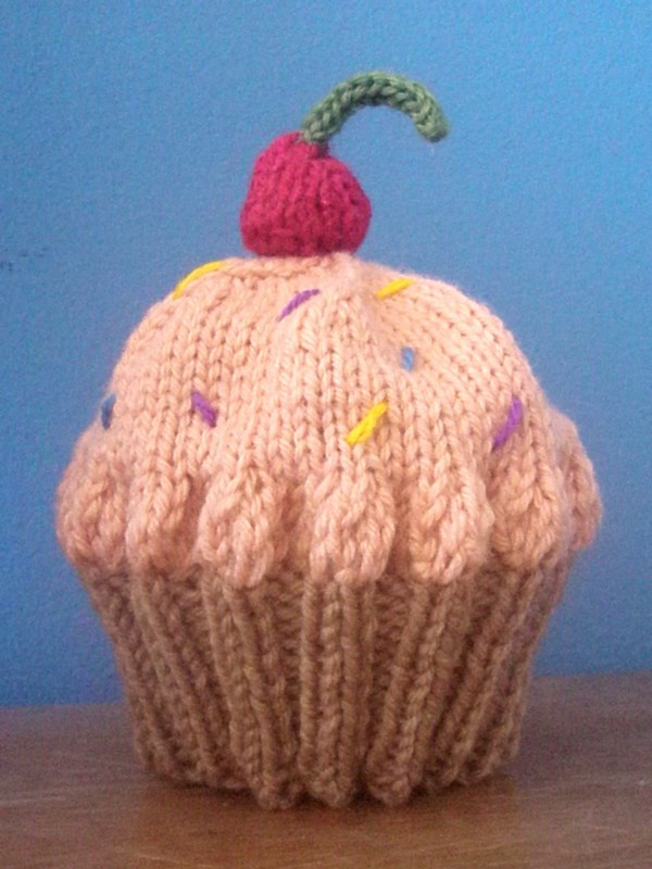 Grandma Swills  Handcrafted Knits  Cupcake Baby Hat Free Pattern c78db0f9994