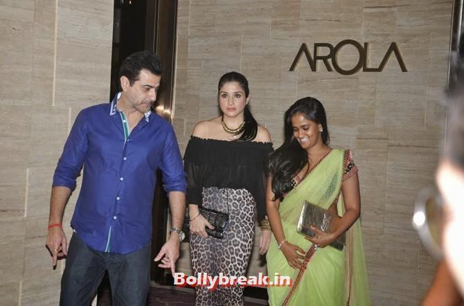 Sanjay and Maheep Kapoor, Arpita Khan, Bollywood Stars Attend Asin's birthday bash