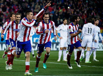 Video Cuplikan Gol Atletico Madrid VS Real Madrid Copa Del Rey