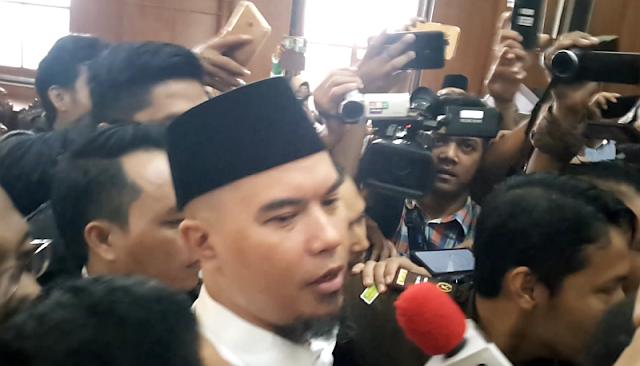 Usai Sidang, Pengacara Ahmad Dhani Nyaris Adu Jotos dengan Jaksa