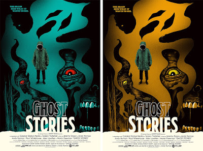 Ghost Stories Movie Poster Screen Print by Ghoulish Gary Pullin x Mondo