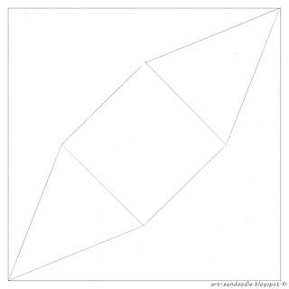 Zendooddle, zen doodle, zentangle, origami, grue