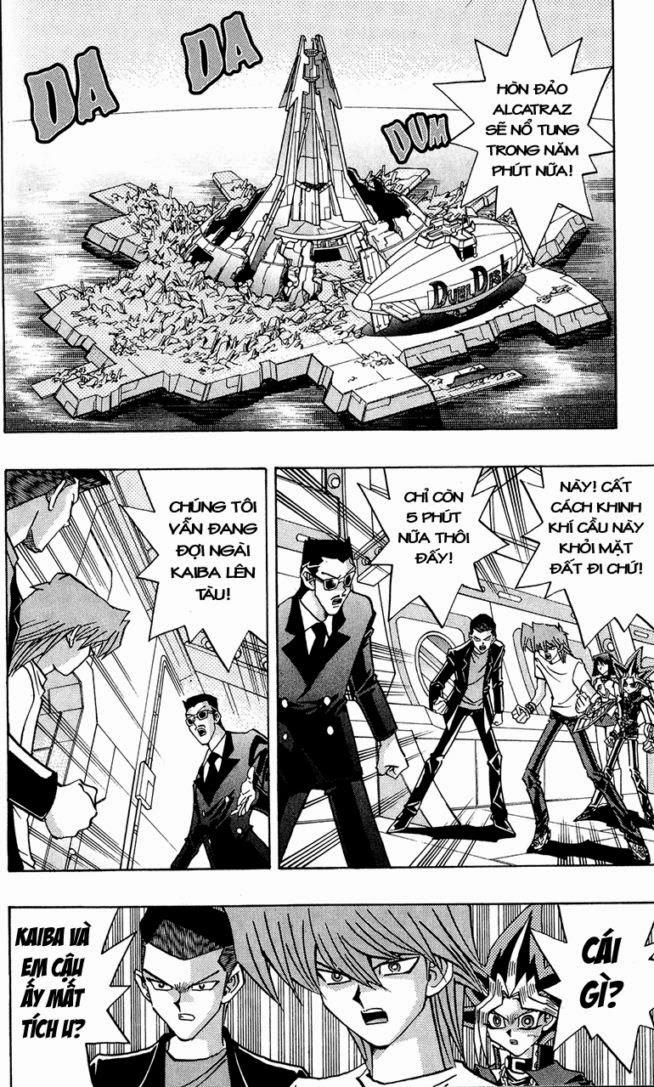 YUGI-OH! chap 278 - một cuộc hành trình mới trang 3