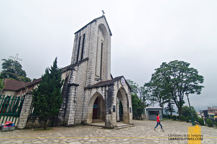 Sapa Vietnam Stone Church