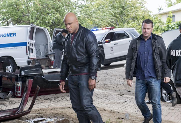 NCIS: Los Angeles - Episode 8.22 - Golden Days - Promotional Photos & Press Release