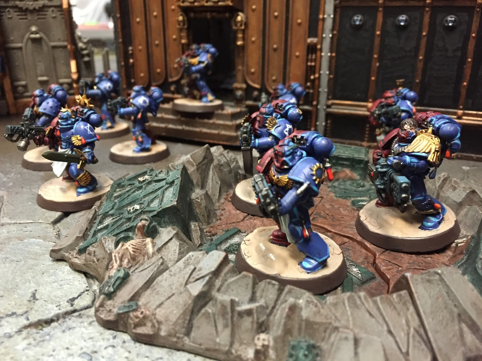 Whats on your table custom space marine army faeit 212 for Table 3 6 usmc