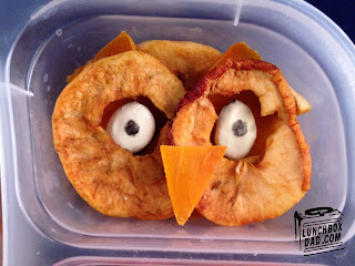 Owl dried apples
