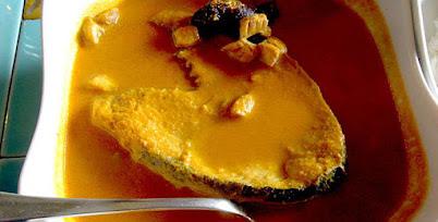 पापलेटची आमटी - पाककला   Papletchi Aamti - Recipe