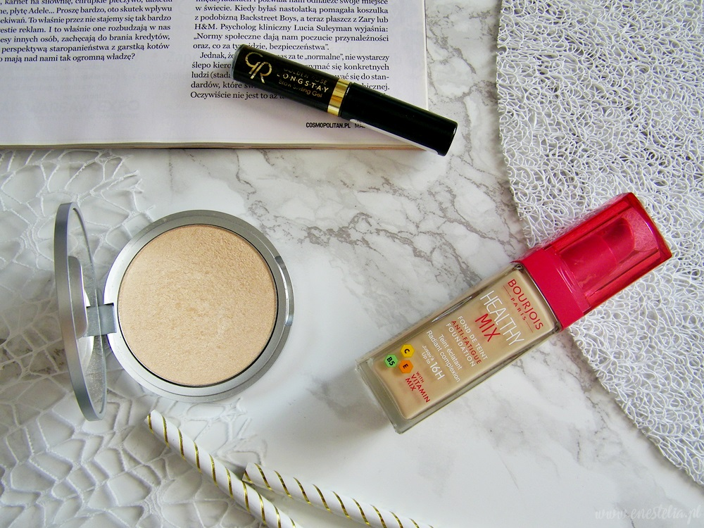 BLOGGER MADE ME BUY IT | The Balm Mary Lou Manizer, Golden Rose Longstay Brow Styling Gel, Bourjois Healthy Mix