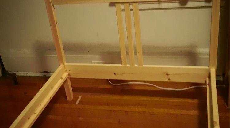 Ikea Fjellse Bed Frame Without Slatted Base