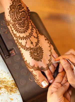 Foot Mehandi Design 4