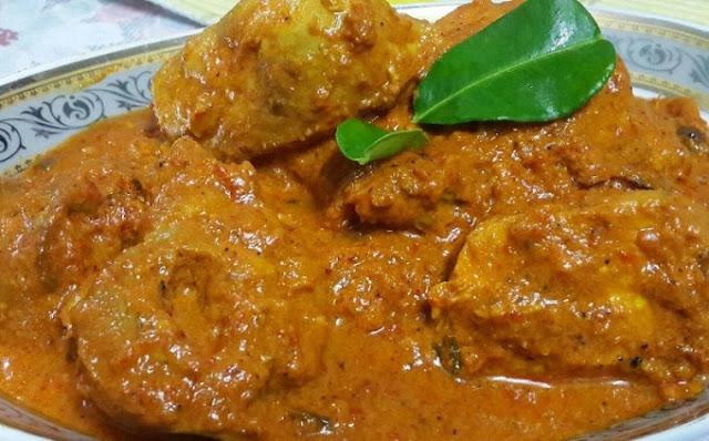 Resep Rendang Ayam Padang lezat