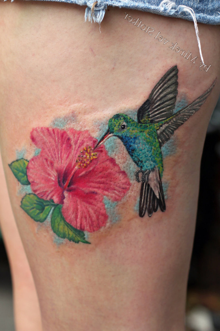 Mytattooland Hummingbird Tattoos
