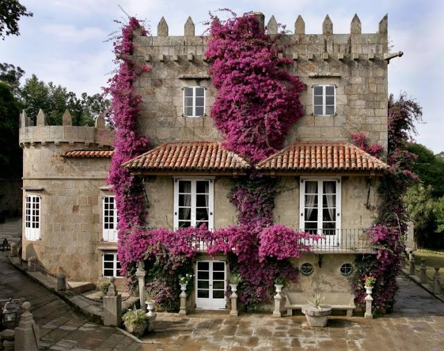 Un pazo con una bonita fachada y exteriores para celebrar vuestra boda en A Coruña