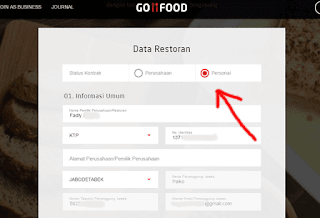 data restoran di go-food