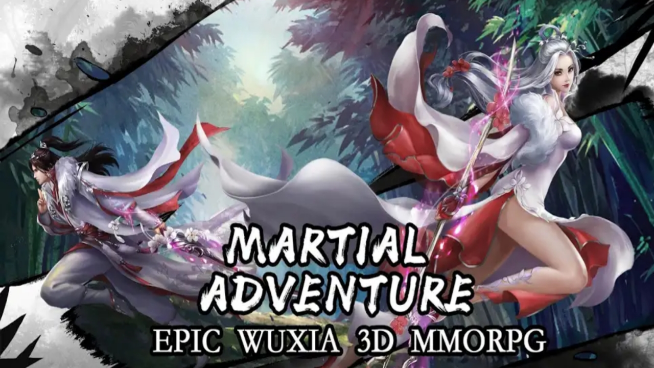 Wuxia Creed MMORPG OPEN WORLD for Android APK IOS - RenzPlay
