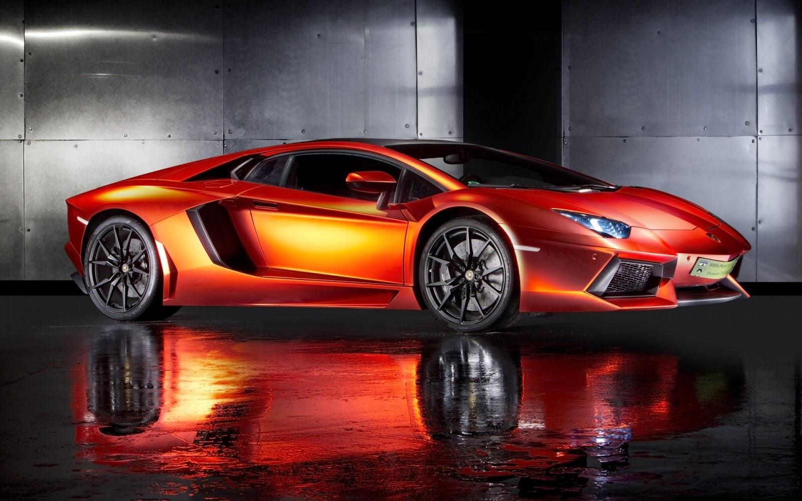 2013 Lamborghini Aventador Color Naranja