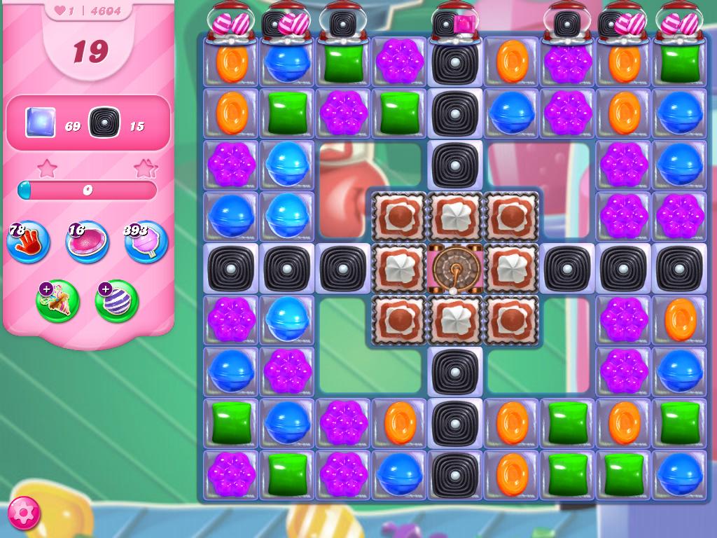Candy Crush Saga level 4604