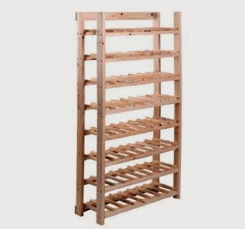 ... my Shoe Storage Bench that I built out of pallets and mentioned at the  end of the post that I would be starting a new project, building a wine rack .