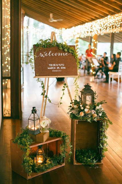 simple floral ceremony for wedding decoration ideas