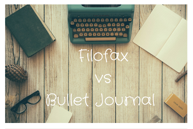 Filofax vs Bullet Journal