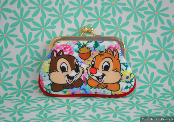 disney irregular choice chip n dale purse front