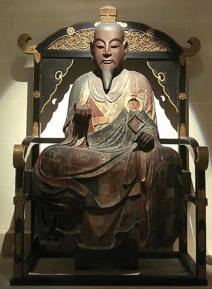 Shotoku wood statue