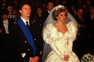 Oggi Sposi Blog Matrimonio Alessandra Mussolini Del 28 Ottobre 1989 Con Mauro Floriani