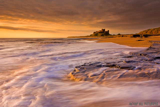 Bamburgh Castle, Northumberland, England, best photos