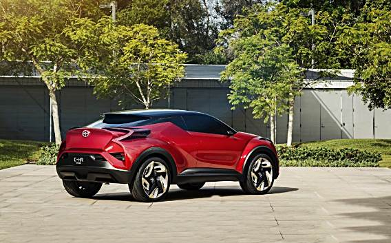 2018 toyota suv.  toyota 2018 toyota chr suv concept release date and specs to toyota suv d