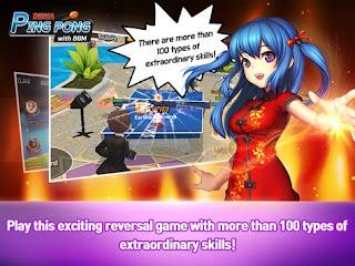 Akhirnya Game Dewa Ping Pong with BBM Sudah Dapat di Unduh