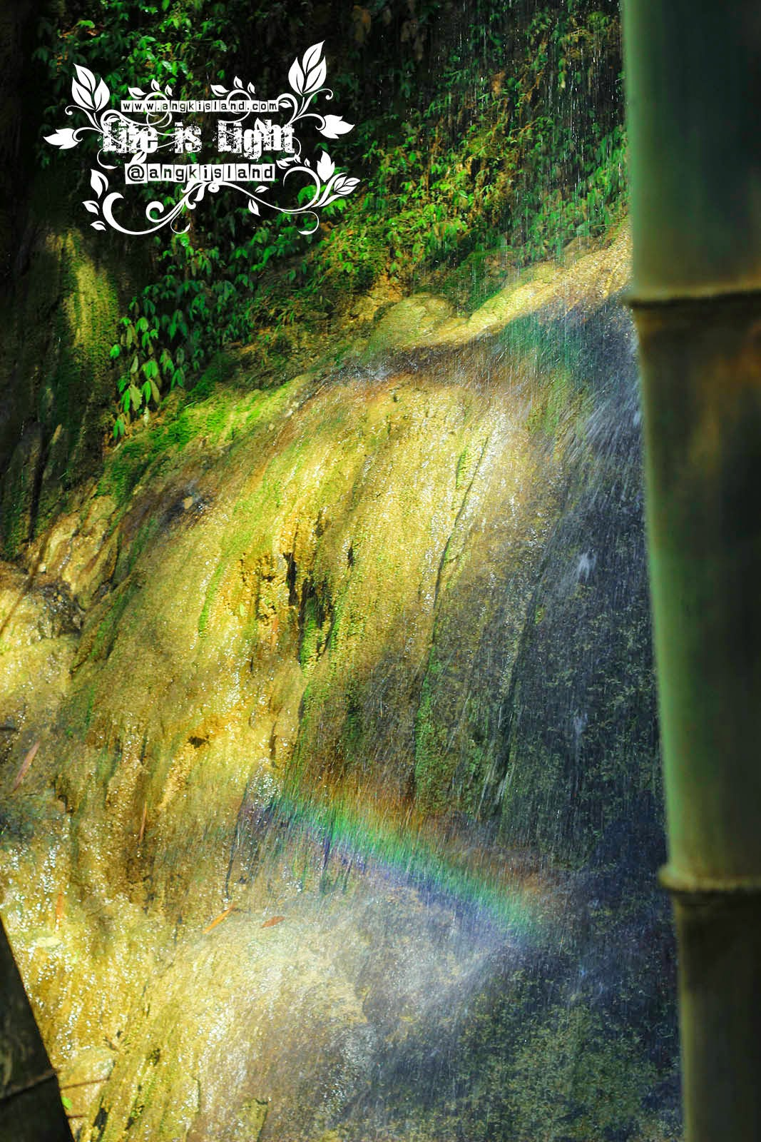 Rainbow at Air Terjun Sigembor